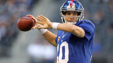 New York Giants (6-2): A-