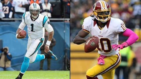 Carolina Panthers at Washington Redskins (Sunday, 1 p.m. ET, FOX)