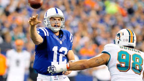 Luck, Manning remain inseparable