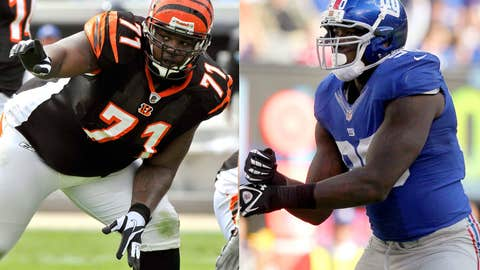 New York Giants at Cincinnati Bengals (Sunday, 1 p.m. ET, FOX)
