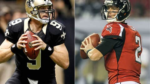 Atlanta Falcons at New Orleans Saints (Sunday, 1 p.m. ET, FOX)