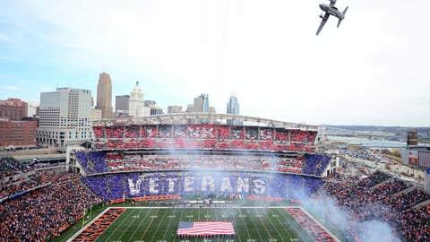 Flyover stadium