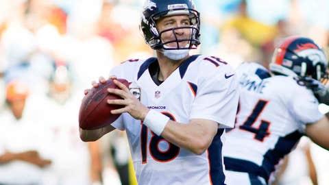 San Diego Chargers at Denver Broncos (Sunday, 4:25 p.m. ET, CBS)