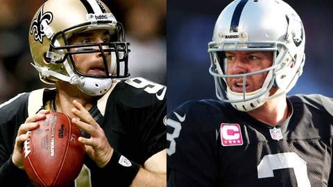 New Orleans Saints at Oakland Raiders (Sunday, 4:05 p.m. ET, FOX)