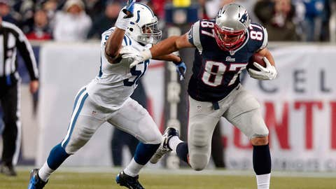 Rob Gronkowski broke his forearm on a play he shouldn't have run
