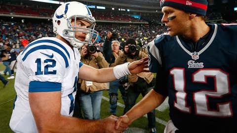 Brady-Luck isn't quite Brady-Manning…yet