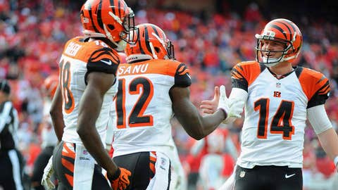 The Bengals are the sleeper team in AFC playoff mix