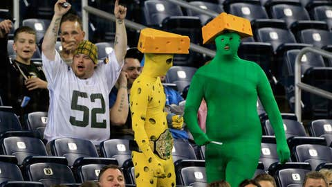 Looking at the cheeseheads?