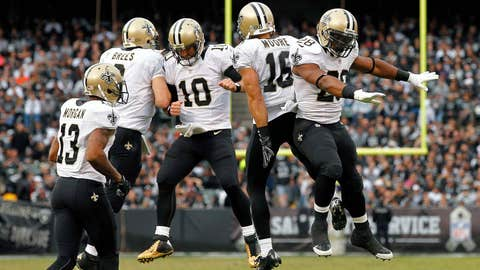 The Saints are playing more like the Saints