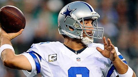 Image: Dallas Cowboys QB Tony Romo (© Michael Perez/Associated Press)