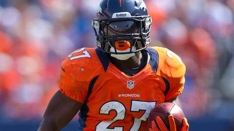 Denver: Knowshon Moreno, RB
