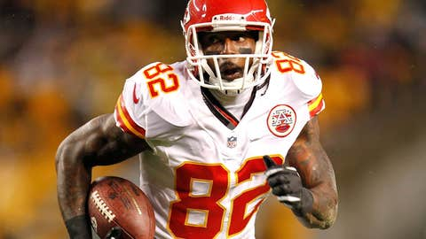 Kansas City: Dwayne Bowe, WR