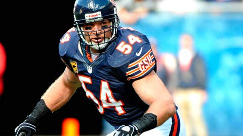 Chicago: Brian Urlacher, MLB