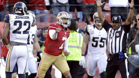 San Francisco 49ers at New Orleans Saints (Sunday, 4:25 p.m. ET, FOX)