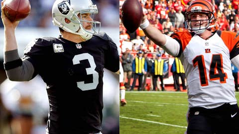 Oakland Raiders at Cincinnati Bengals (Sunday, 1 p.m. ET, CBS)