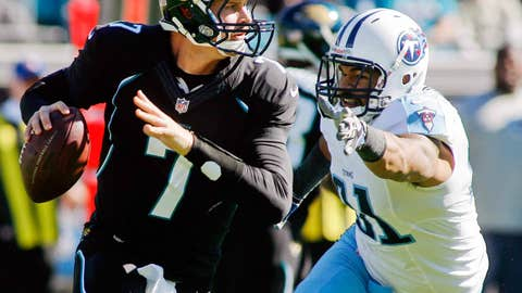 Jacksonville may have a franchise quarterback on its roster. His name is Chad Henne.