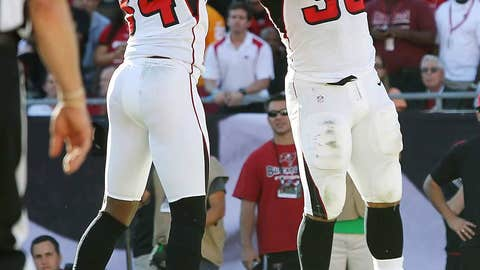 The Falcons are the class of the NFC South