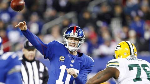 """Eli Manning's arm isn't """"tired"""" after all"""