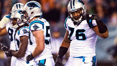 Panthers' D shows up … for the most part