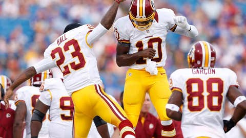 RG3 gets another crack at Giants