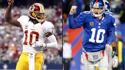 New York Giants at Washington Redskins (Monday, 8:30 p.m. ET, ESPN)