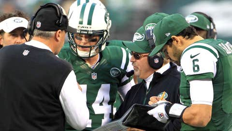 No Mark Sanchez. No Tim Tebow. No Fireman Ed. No problem. The Jets still found a way