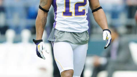 Percy Harvin, WR, Vikings