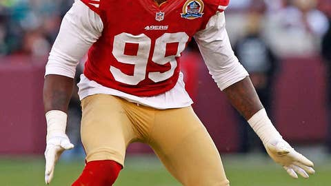 Aldon Smith's chase for 22.5