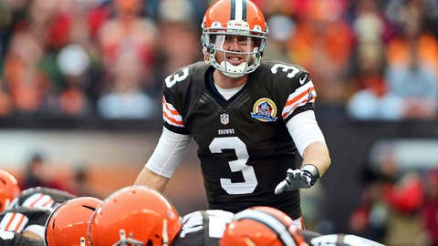 Red hot … Brandon Weeden? Yes. Seriously.