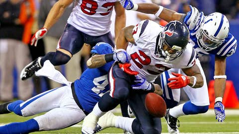 The AFC South title hasn't been locked up just yet