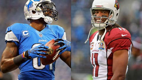 Calvin Johnson vs. Larry Fitzgerald — what could have been?