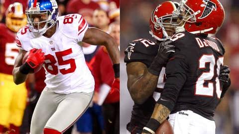 New York Giants at Atlanta Falcons (Sunday, 1 p.m. ET, FOX)
