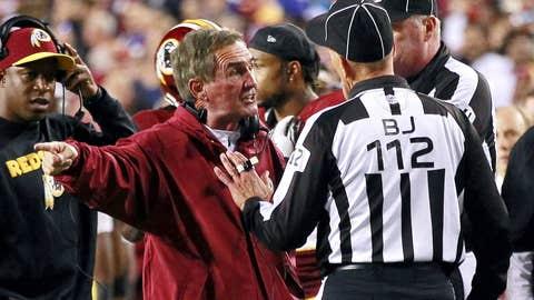 Washington Redskins at Cleveland Browns (Sunday, 1 p.m. ET, FOX)