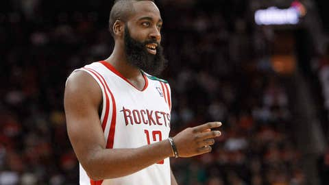 James Harden traded from OKC