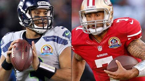 San Francisco 49ers at Seattle Seahawks (Sunday, 8:20 p.m. ET, NBC)