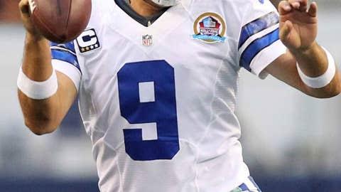 New Orleans Saints at Dallas Cowboys (Sunday, 1 p.m. ET, FOX)