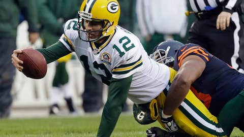 Tennessee Titans at Green Bay Packers (Sunday, 1 p.m. ET, CBS)