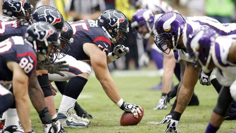 Trenches expose Texans