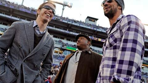 Brad Keselowski & Michael Phelps