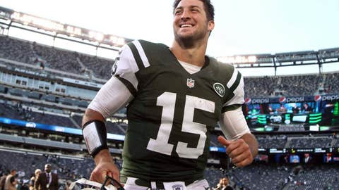 A new (happier) home for Tim Tebow