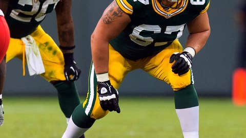 Green Bay: Right tackle Don Barclay