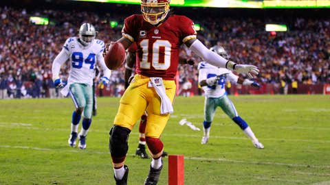 Washington: Quarterback Robert Griffin III