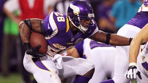 Minnesota: Running back Adrian Peterson