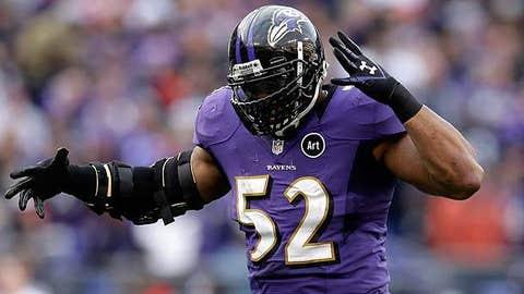 LB: Ray Lewis, Ravens