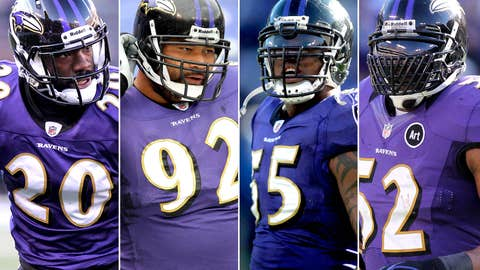 The Core Four (Ed Reed, Haloti, Suggs, Ray Lewis)