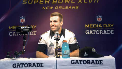 Flacco's in the money