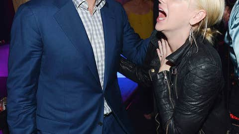 Will Ferrell and Anna Faris