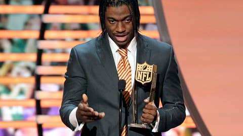 Offensive Rookie of the Year: Robert Griffin III