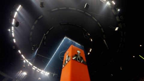 Superdome darkness