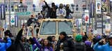 Presenting images from Baltimore Ravens championship parade